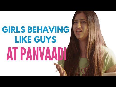 Delhi Girls at Panvadi - #IndianGirls - ODF