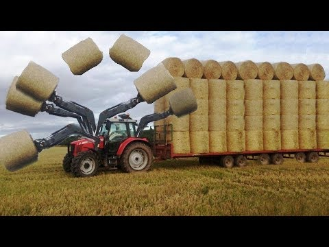 Tarımda Son Nokta | Müthiş Balya Toplama Makinası
