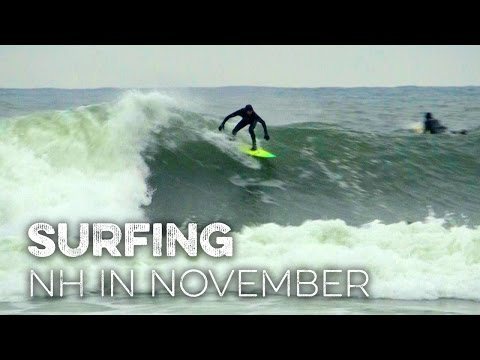 Surfing NH's Seacoast in November