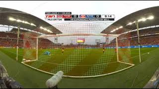 Bell VR Experience: Jozy Altidore 1st Half Scoring Chance