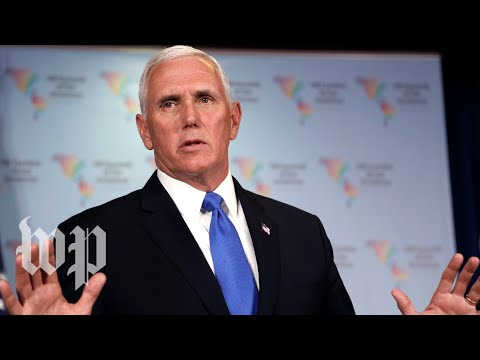 Pence on U.S.-led airstrikes: 'There will be a price to pay if chemical weapons are used again'
