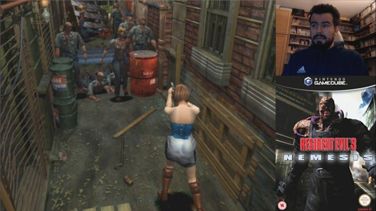 Resident Evil 3 Nemesis Gamecube Gameplay En Espanol Youtube