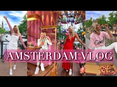 AMSTERDAM TRAVEL VLOG | 2018