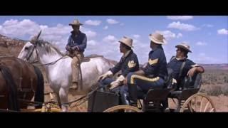 """Фильм-вестерн """"Три сержанта"""",1962 год."""