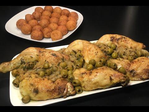 recette-d'ÉtÉ-le-poulet-aux-olives-et-au-citron-rÔti-au-four