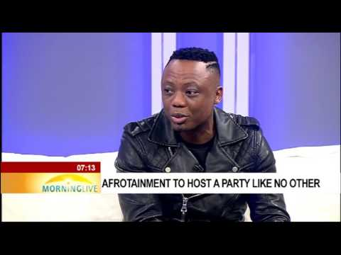 DJ Tira on Afrotainment Vodacom Durban July Marquee event