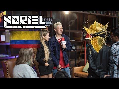 Fanny Lu x Noriel - Media Tour en Bogota, Colombia 🇨🇴