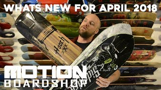 Whats new for April 2018 - Longboarding