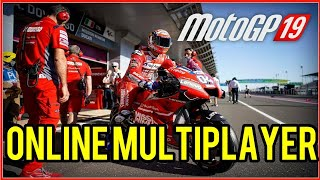 MotoGP 19 Online Multiplayer Gameplay