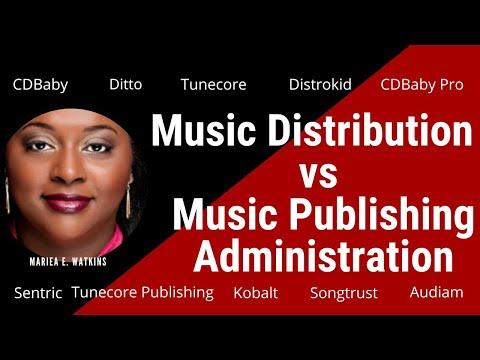 Distribution vs Publishing Administration