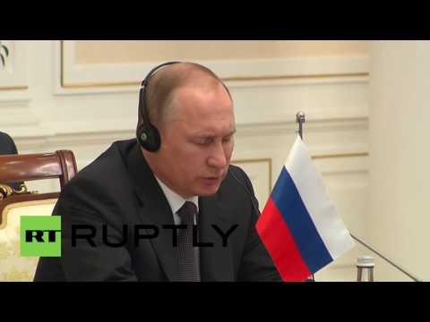 Uzbekistan: Putin touts trilateral ties between China, Mongolia and Russia