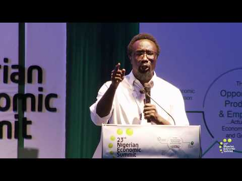 NES 23 Opening Poetry Performance by Dike Chukwumerije