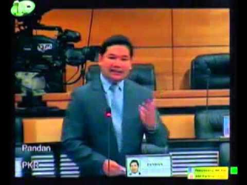 MP PKR Pandan Bahas RUU Kumpulan Wang Persaraan (Pindaan) 2015
