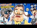 HELLO NEIGHBOR OPERATION! FGTEEV Doctor + BENDY Scribblenauts & Draw a Stickman Save the Day!
