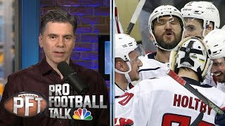 Washington Capitals superfan PFT Commenter on beef with Penguins fans I NHL I NBC Sports
