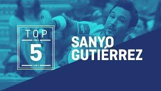 El Top 5 de Sanyo Guitérrez en 2018