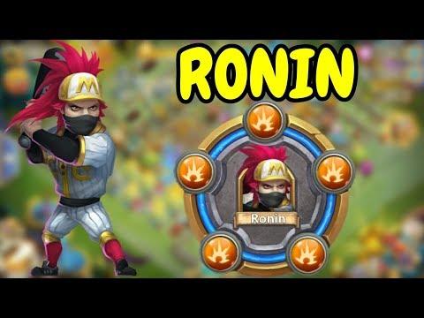 Max Level Breakthrough Ronin In Action L Castle Clash