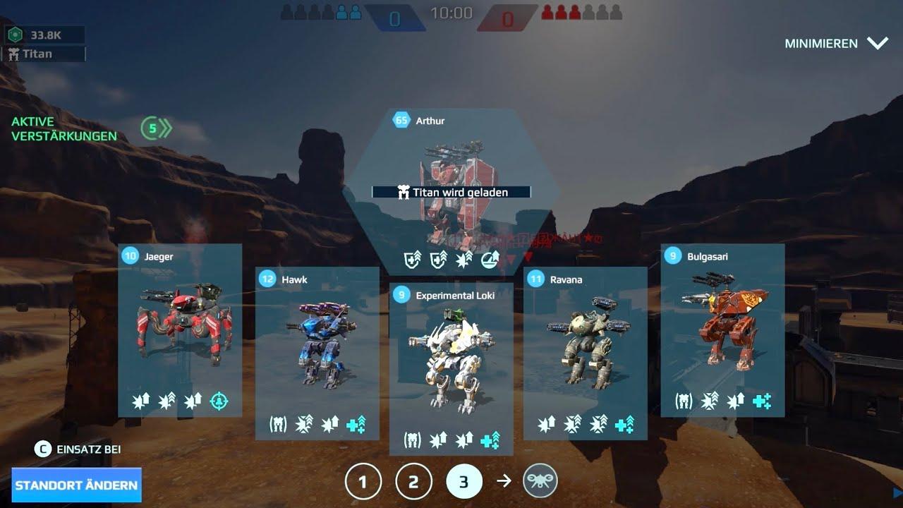War Robots: Jaeger, Hawk, Bulgasari, Arthur + Giveaway Winners | #WRwinHavoc2