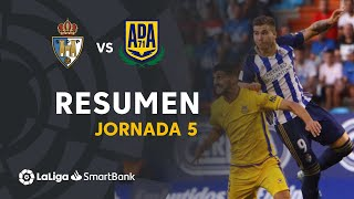 Resumen de SD Ponferradina vs AD Alcorcón (1-1)