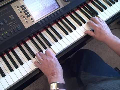 Piano lesson on Greensleeves - How To Play Greensleeves Using Just 4 Chords