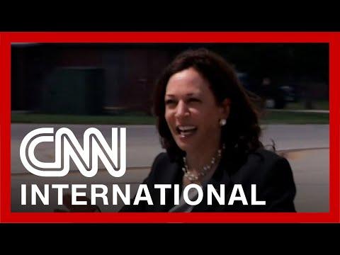 Kamala Harris meets Guatemalan president to tackle migration
