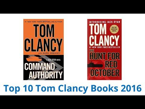 10 Best Tom Clancy Books 2016