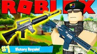 NEW LEGENDARY GOLD M16! - ROBLOX FORTNITE BATTLE ROYALE (ISLAND ROYALE) #16