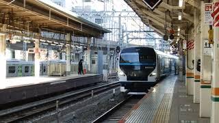 E257系 特急 踊り子 東京駅 到着