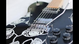 Abdee slank Guitar HD 1 Eye Abdee Signature Spesifikasi