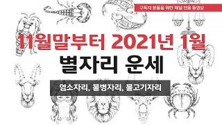 2020년 12월 ~ 2021년 1월 상세 운세 - 염소자리, 물병자리, 물고기자리