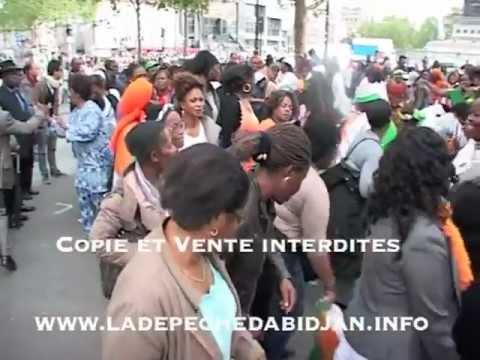 Au revoir Sarkozy - Nouvelles d'Accra, le 08 mai 2012 à Paris
