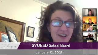 Southwestern Vermont Union Elementary School District // 01/12/21