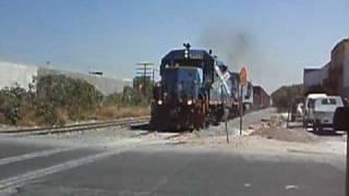 Ferromex, Local de Colima y turno Las Juntas con GP38-2 y C30-7*
