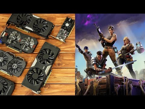 Fortnite Benchmarks With Budget Graphics Cards