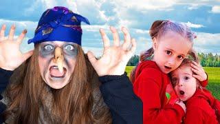 Баба Яга начало веселой истории - Сборник видео для детей про бабу ягу №1