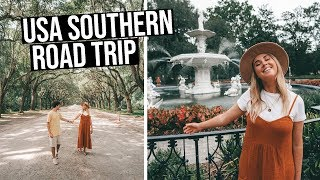 Our 3 Week Southern Usa Road Trip  Savannah, Charleston, South Carolina, Utah