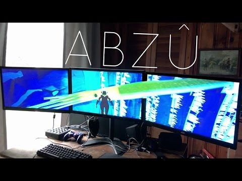 i5 7600k GTX 1070 Triple Monitor ABZÛ [5760x1080] [4K/60]