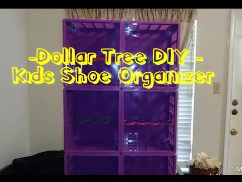 Dollar Tree Diy Kids Shoe Organizer