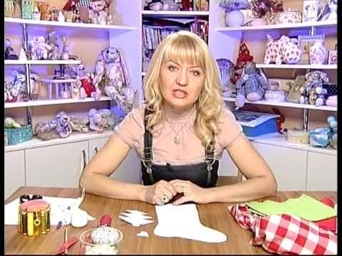 Мастер-класс по шитью новогоднего сапожка
