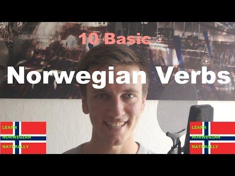 10 Basic Norwegian Verbs - Learn Norwegian