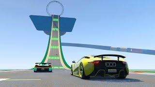 SUPER VELOCIDAD EXTREMA!! - CARRERA GTA V ONLINE - GTA 5 ONLINE