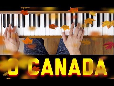 O Canada (Piano Tutorial- Easy)