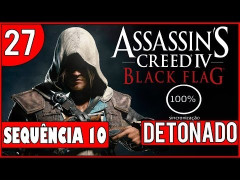 Assassin's Creed 4: Black Flag - Detonado Parte #27 - Aposta de Black Bart 100% - [HD](PS3)