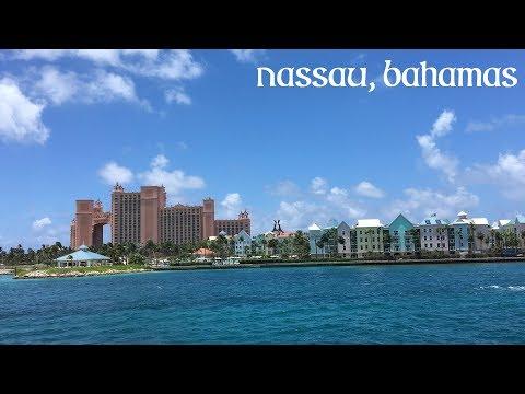 NASSAU, BAHAMAS [caribbean cruise vlog day 1/2]