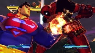 Street Fighter X Tekken - Superman x Deathstroke VS Deadpool x Deathstroke  [1080p] TRUE-HD QUALITY
