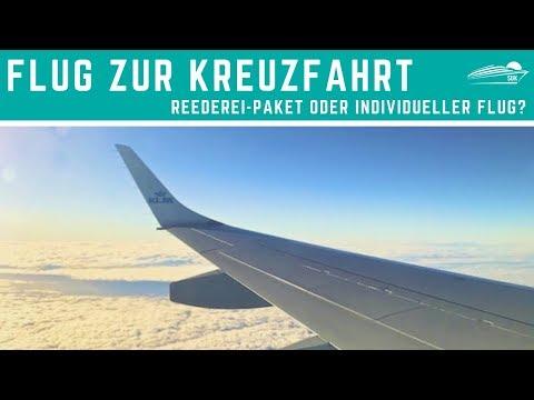 Flug Zur Kreuzfahrt: Individueller Flug 🛩 Oder Anreisepaket Der Reederei? ✅