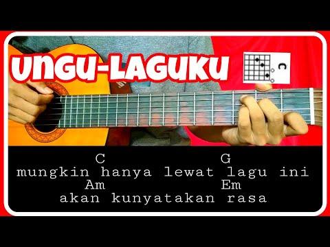 Chord gitar (UNGU-LAGUKU) mudah