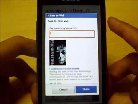 Samsung Readers Hub, Part 1: Kobo E-Books