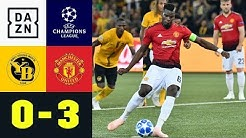 Paul Pogba schießt Bern ab: BSC Young Boys - Manchester United 0:3 | UEFA CL | DAZN Highlights