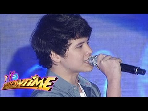 It's Showtime Singing Mo 'To: Juan Karlos Labajo sings